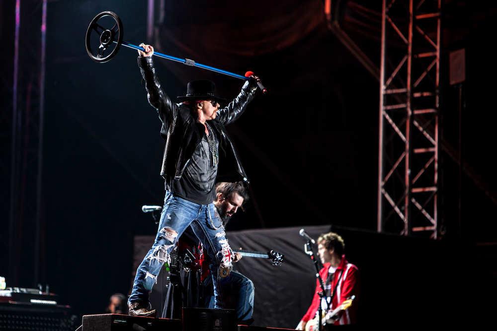 El concierto de Axl Rose con ACDC