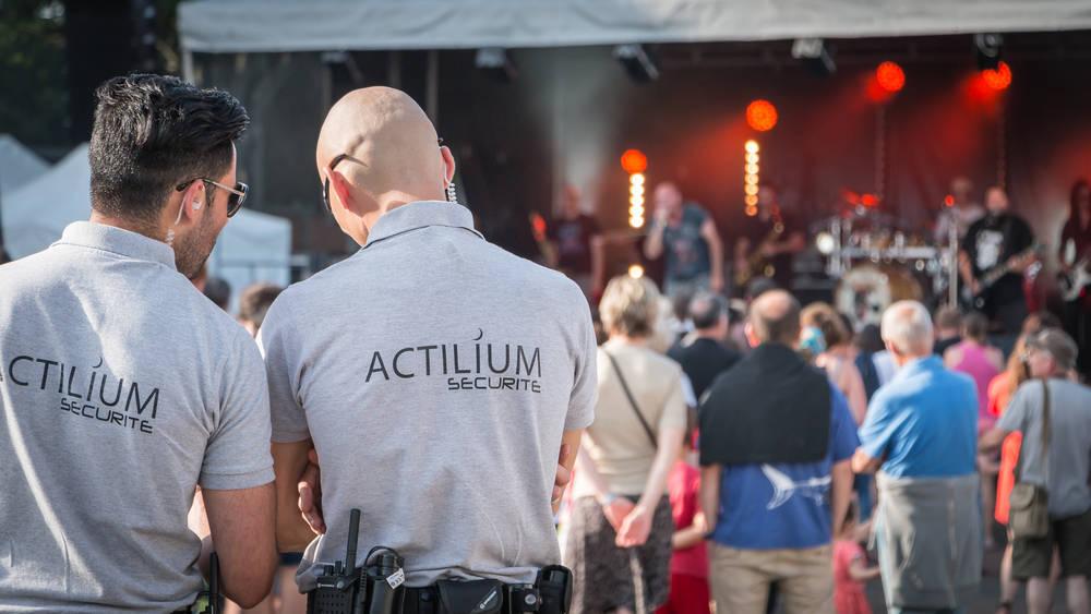 Seguridad en festivales y conciertos